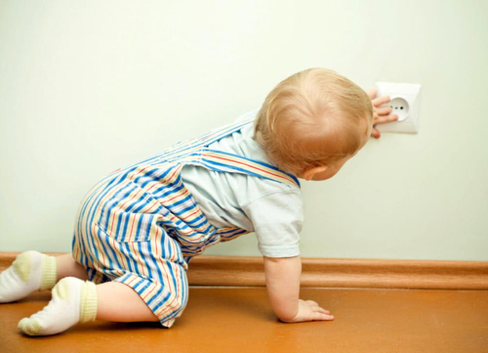Rendere una casa sicura per un bambino
